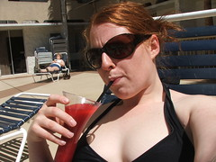 Me, a pool, and daquiri!