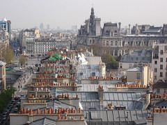 Overview from Notre-Dame (Begoa V.) Tags: houses orange france notredame roofs marais naranja francia magicmoments tejados pars