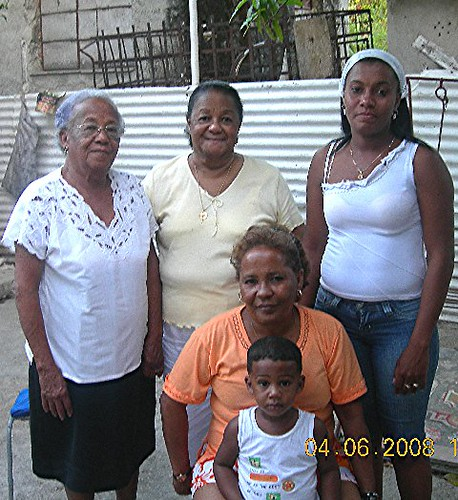 My Grandmother's Family in Cuba