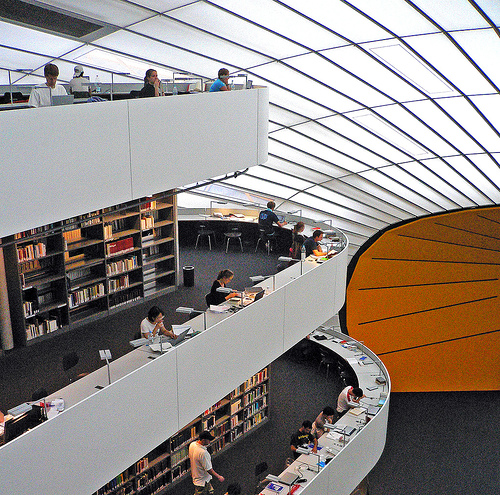 The Philology Library at Free University in Berlin