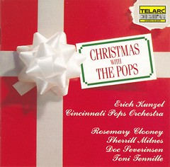 Erich Kunzel & Cincinnati Pops Orchestra - Christmas With The Pops (1990) (cover)