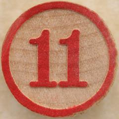 Bingo Number 11