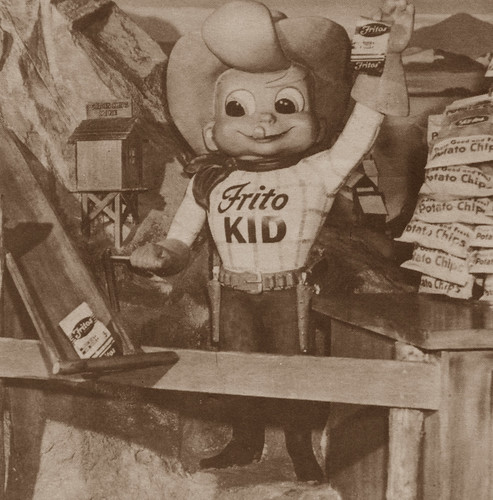 Frito Kid in Disneyland, 1955