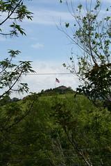 simplot's flag at half-mast