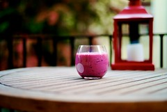 Raspberry/Blueberry smoothie