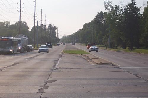 Northbound at Arlington Ave.