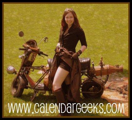 Steampunk Geek Girl Banner