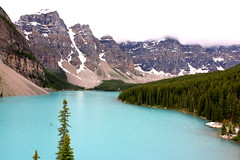 Moraine lake (a Fish) Tags: banffnationalpark morainelake valleyofthetenpeaks