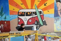 DSC_0752 (Kurt Christensen) Tags: art beach painting mural surf thrust gilgobeach gilgo