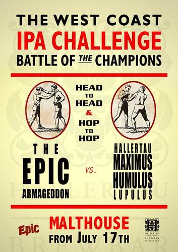Unofficial IPA Beer Challenge Poster