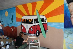 DSC_0726 (Kurt Christensen) Tags: art beach painting mural surf thrust gilgobeach gilgo