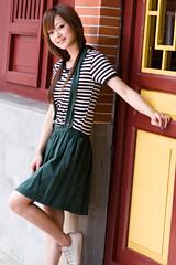 (swanky) Tags: portrait people woman cute girl beauty canon asian eos model asia pretty taiwan 85mm babe taipei   2008 taiwanese 30d    mikako   canonef85mmf18usm difocus  mikako1984