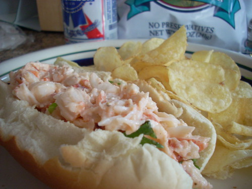 Homemade Lobster Roll