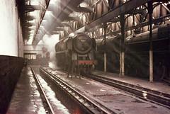 70015 Apollo 1966 (Alastair Wood) Tags: train br railway steam stockport british locomotive railways britannia engineshed 9b 70015