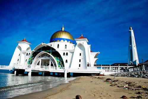 Image result for masjid selat melaka