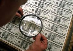 U.S. Banknote Paper Microprinting