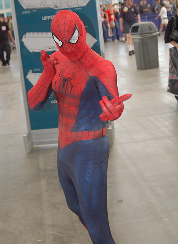 Comic Con 2008: spiderman