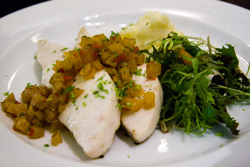 Butterfish Steak with Pineapple Salsa (by P3rSeUs)