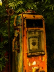 Old Petrol Pump 1