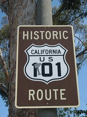 Historic Route 101 California U.s.a