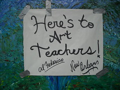 HERE'S TO ART TEACHERS!