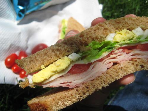 Sandwich in Millenium Park