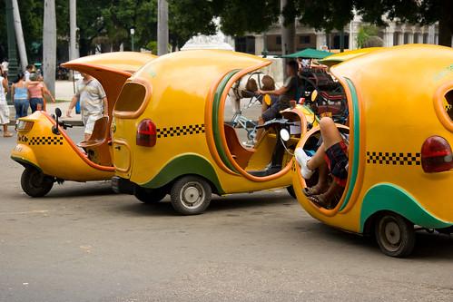 Habana mini cabs, Havana