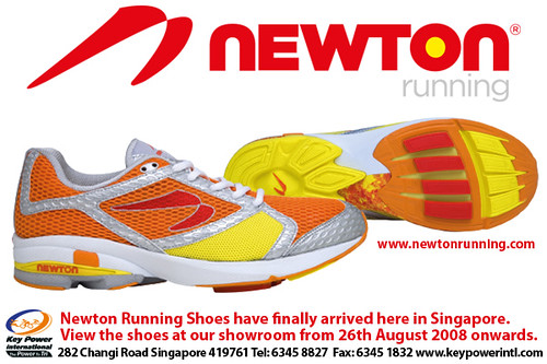 Running for success: Newton Running Shoe