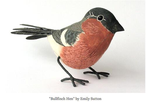 bullfinch hen