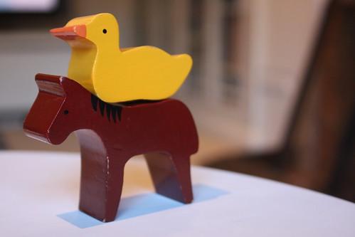 Duck + Horse