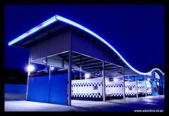 Car Wash on Waterdale (Adam Dimech) Tags: auto building car architecture night evening twilight neon dusk australia melbourne victoria carwash wash bundoora carwashonwaterdale waterdaleroad