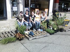 Parking Day picture from Sq.  Hill