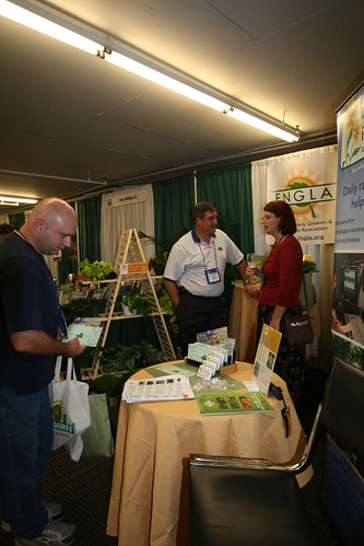 FNGLA/UF booth at GWA2008