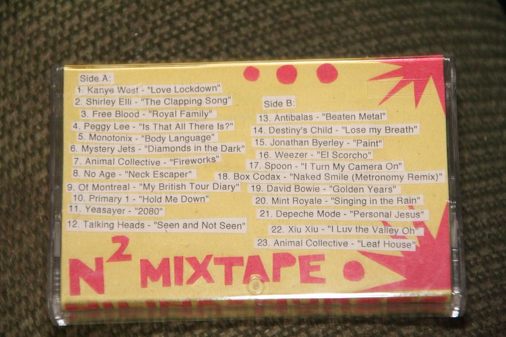 N Squared Mixtape Tracklist