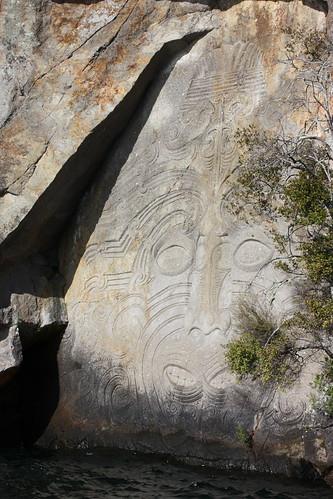 Lake Taupo Maori Signs