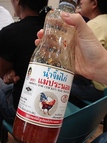 The brand of Thai sweet chili sauce to look for - Mae Pranom