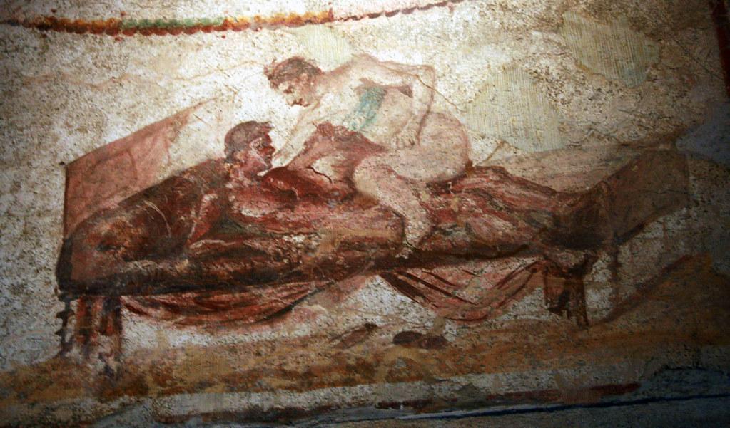 Pompeii - Lupinare Art 2