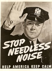 * 1942 ~ Chicago Police and Noise Pollution  [read story below] (Chicagos~Finest) Tags: star badge cop lawenforcement policeofficer policeuniform chicagopolicehistory vintagechicagopolice