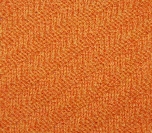 Double Knitting Stitches Per Inch : Diagonal Rib 24