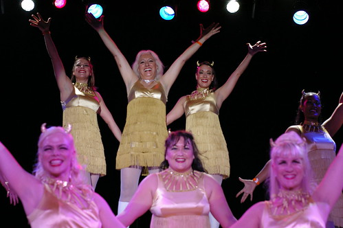The Devil-ettes with Viva La Fever at Tease-O-Rama 2008