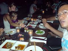Dinner di KU DE TA