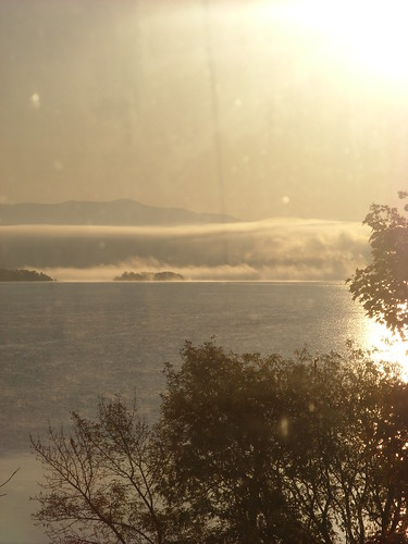 Sunrise cloud effects, 10/11/08