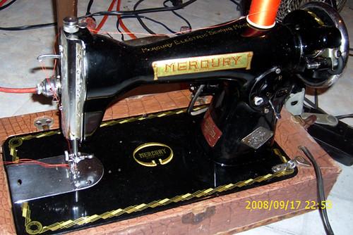 1953 Mercury Sewing Machine