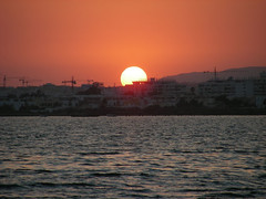G0324 (molarinho29) Tags: sunset sea sun sol praia beach portugal island mar beaches algarve ilha thebeach olho armona sunrisessunsets theunforgettablepictures beachessunset guasdivinas