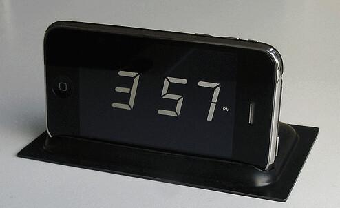 DIY iPhone Alarm Clock Stand