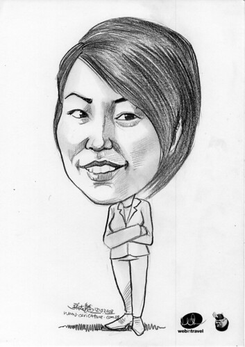 Caricatures Web in Travel 2008 Aya Aso