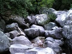 Ravin de la Sposata : le lit du torrent (Photo de Daniel le Crapahuteur)