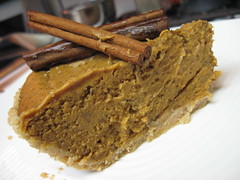 Pumpkin Cheezecake Pie