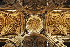 Now this is what I call a ceiling... (j.hietter) Tags: spain flickr cathedral chapel ceiling keep salamanca