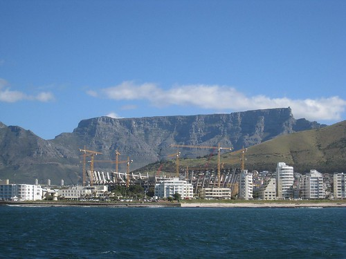 Cape Town's new soccer stadium for the 2010 World Cup